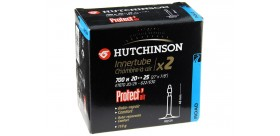 HUTCHINSON 700X20-25 (pack 2 ch) Protect'air (liquide anticrev.) PRESTA 48mm