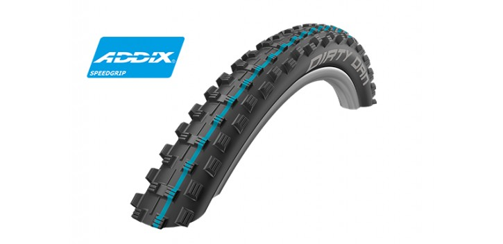 Schwalbe DIRTY DAN HS417 (Tringle souple)