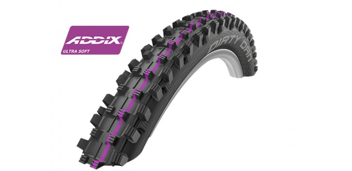 Schwalbe DIRTY DAN HS417 (Tringle rigide)
