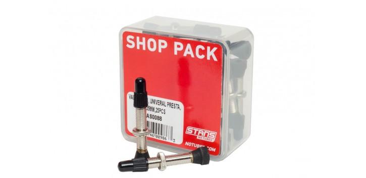 Pack de 25 valves tubeless Notubes presta 35mm