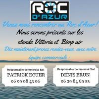 Venez nous rencontrer au Roc d'Azur!