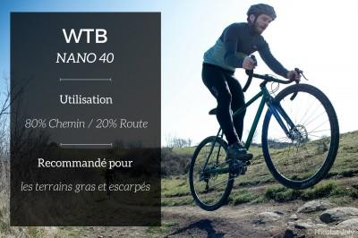 Focus sur les pneus Gravel WTB par cycles Victoire.