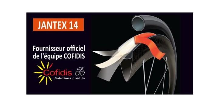 ruban adhésif double face Velox JANTEX 14 pour le collage des boyaux