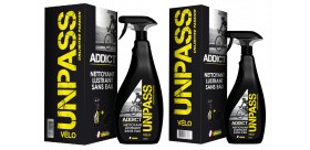 UNPASS ADDICT Nettoyant sans rincage 750ml + Microfibre