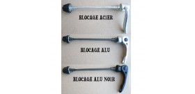 BLOCAGE AXE ROUE ACIER AVANT / ARRIERE
