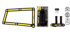 Auvray antivol pliant City Lock 85cm avec support