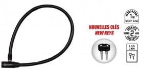 Auvray antivol câble à clé 65cm - Ø5