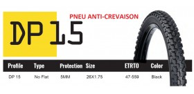 DUTCH PERFECT PNEU 26X1.75 SRI 15 - ANTICREVAISON 5MM