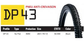 DUTCH PERFECT PNEU SRI 43 - ANTICREVAISON 5MM