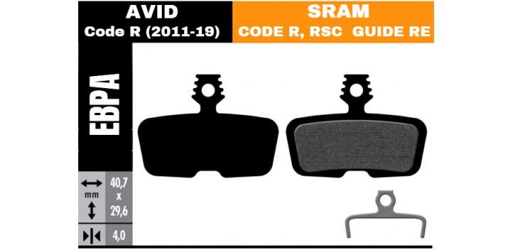 Plaquette V.A.E - BEAR AVID / CODE SRAM R
