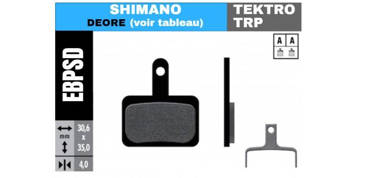 Plaquette V.A.E - SHIMANO - TEKTRO - TRP