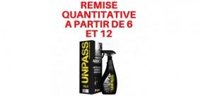 UNPASS ADDICT Nettoyant sans rincage 500ml + Microfibre