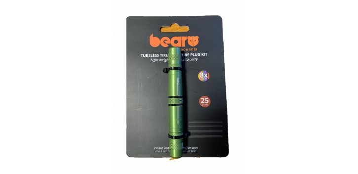 BEAR - KIT RÉPARATION TUBELESS - 8 MECHES