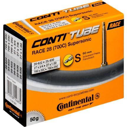 Continental CAA 700X20/25C SUPERSONIC valve presta 60mm 18-622 à 25-630