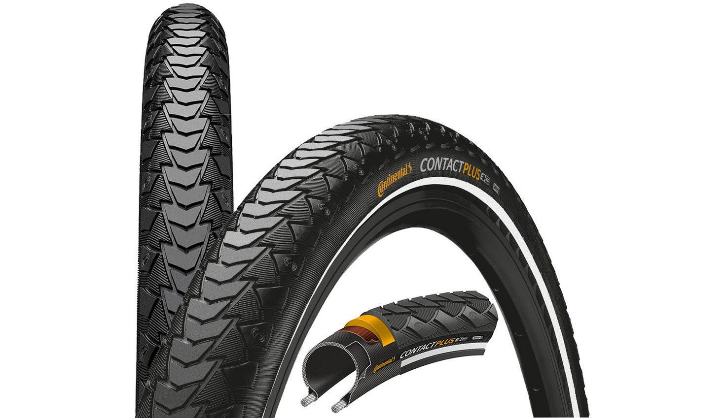 Continental PNEU CONTACT PLUS REFLEX 26x1.75 NEGRA