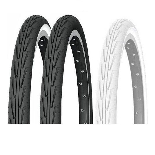 Michelin PNEU CITY JUNIOR TR NOIR ET BLANC 37-541 600 A CONFORT